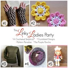 Welcome to the Linky Ladies Party! This is a fiber arts bi-weekly community party and is live from Tuesday at 12:00 am, ending on Saturday at 12:00 pm (PST). Show off your talent by linking up your finished crochet & knit projects! The five most popular links will be featured and shared on our social...Read More