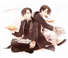 FMA_Greed and Ling...their determination to fight is as big as their stomachs!!!