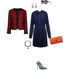 """One Vintage"" by catalogate on Polyvore"