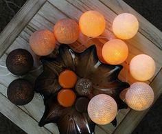 Cotton balls Golden Autumn