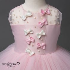 Pink Ballerina Dress - Couture - Itty Bitty Toes