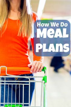 """Proof that there's no single """"right"""" way to create meal plans!"""