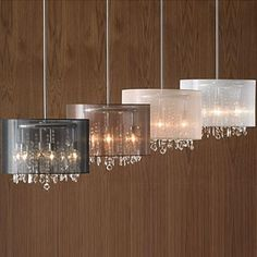 6-Light Drum Pendant Crystal Lighting - Sears | Sears Canada