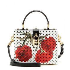 Dolce & Gabbana - Dolce leather shoulder bag #handbag #dolceandgabbana #stefanogabbana #women #designer #covetme #dolce&gabbana