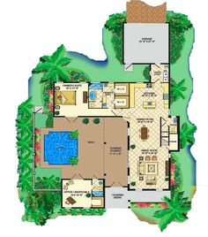 Floor plans for florida homes Bbq Grill Island, Florida Home, Green Building, Home Projects, House Plans, Floor Plans, Construction, House Design, Flooring