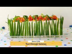 Tost Ekmeği Salatası Nasıl Yapılır? Salata Tarifi - Bir Dilim Lezzet - YouTube