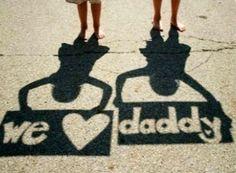 Cute Father's Day Photo Idea!