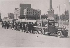Foto storiche di Roma - Piazzale del Verano. Funerale Old Photos, Rome, Nostalgia, Memories, Antiques, Summer Time, Pictures, Italia, Old Pictures