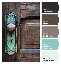 Rustic Paint Colors color choices to enhance old world designs indoors. benjaminmoore