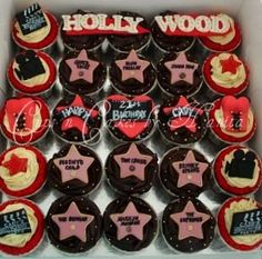 Hollywood Themed Cupcakes :)