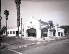 Wegge-Pelton Motor Co. Dodge Dealership located at 1035 East Colorado Blvd, Pasadena, 1945 Dodge Dealership, Digital History, Huntington Library, Certificate Programs, Colorado, Mid Century, California, Travel, Life