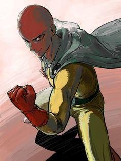 Saitama One Punch Man, Anime One, Fictional Characters, Fantasy Characters