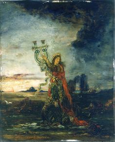 Gustave Moreau:  Arion (1891)