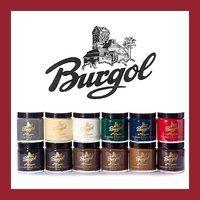 Burgol Schuhpomade im Glastiegel 100 ml Schwarz und weiteren 14 Farben bei www.schuhband24.de