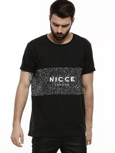NICCE Speckle Panel T-Shirt - Buy Men's Tee Shirts online in India | KOOVS