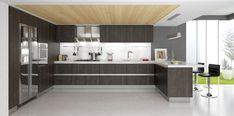 European Style Modern High Gloss Kitchen Cabinets
