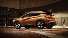 2016 Nissan Murano front The all new 2016 Nissan Murano crossover