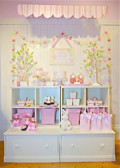 Pottery Barn Kids: Easter party display styled by Project Nursery