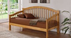 This Bonsoni Contemporary Style Single Savannah DayBed Frame Oak is a beautiful piece of Bed demostrating the Bonsonis unparallel quality and workmanship. This SAVANNAH DAYBED OAK comes in 2 boxes. This Bonsoni Contemporary Style Single Savannah Daybed Bedding, Wooden Bed Frames, Porch Swing, Outdoor Sofa, Contemporary Style, Savannah Chat, Kids Bedroom, Bedroom Furniture, Cribs