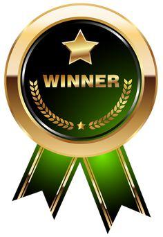 Winner Medal Green Transparent PNG Clip Art Image