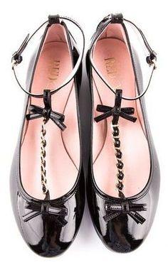 Valentino Bow Flats