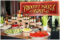 bloddy mary or ceasar bar! awesome