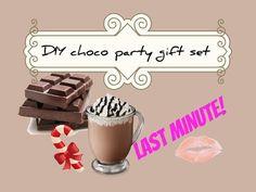 Last minute DIY chocolate party gift! Choco regalo fai da te - YouTube