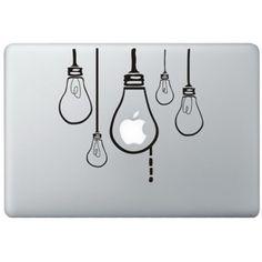 Hangende Lampen MacBook Sticker