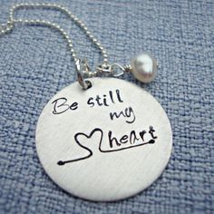 Three Little Pixie's Boutique Be Still My Heart Necklace