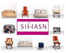 Sihasn: Minimalist functional furniture upholstered in dramatic Indian fabrics! Indian Fabric, Decorating Blogs, Minimalist, Fabrics, Inspiration, Furniture, Home Decor, Tejidos, Biblical Inspiration