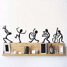 DeStudio Happy Band, Multi Color, Wall Stickers (Wall Covering Area : 90cm X 23cm)-12331