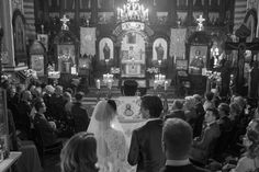 This Eastern Orthodox Lithuanian Wedding is Royally Gorgeous | Image by  Linas Dambrauskas Photography