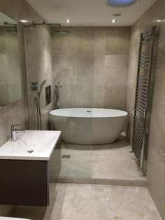 Classic and Timeless look created with our Troy Honed Marble 600x600. Supplied & fitted by Higham Stone & Tile co. www.highamstoneandtile.co.uk