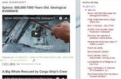 """20.4.17 Blog """"La Caracola"""" de Aprocean http://aprocean.blogspot.com.es/ """"El mar, océano ártico y Antártida  universales"""""""