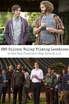 """Are you a fan of the HBO comedy series, """"Silicon Valley""""? Check out this Silicon Valley Filming Locations: A guide to all the California filming locations and Bay Area footage used in Seasons 1 & 2 of the hit HBO series, Silicon Valley. Includes scenes filmed in or set in Palo Alto, Mountain View, Menlo Park, San Francisco, and Los Angeles."""