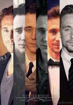 Tom Hiddleston. He's sooo handsome, can I keep him?