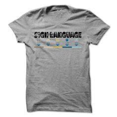 Sign Language Cool Shirt !!! T Shirt, Hoodie, Sweatshirt