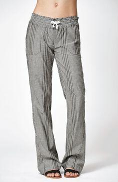 Oceanside Stripe Beach Pants