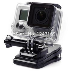 BuyerKit(TM) 3in1 Backpack Travel Quick Clip Clamp Mount   Screws  Buckle for GOPRO Hero 2 3 3  OS102 * Continue to the product at the image link.