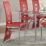 Coaster Furniture - Los Feliz Dining Chair in Silver (Set of 2) - 101683
