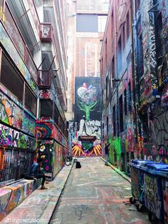 Laneway Street Art Melbourne