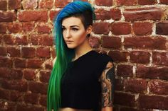 Undercut with various length of long hair women - Google Search