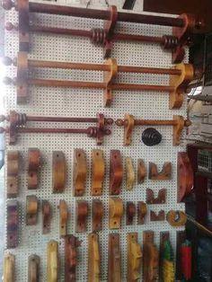Cortineros De Madera A Solo $95 Ml - $ 95.00