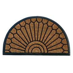 Allen + Roth Coco Rubber Door Mat $19.98 at Lowes
