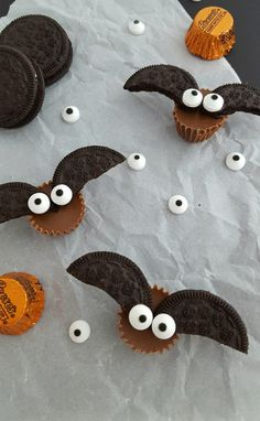 No Bake Chocolate Peanut Butter Bat Bites: Easy Kids Recipe For Halloween