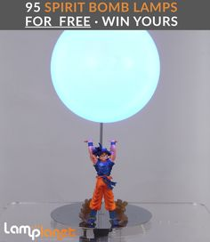 Yes! Lamplanet is giving away 95 of these Spirit Bomb Lamps. Go here to check it out! :D