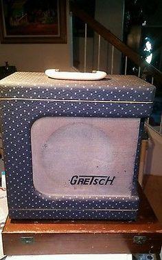 GRETSCH VALCO Vintage Electromatic Guitar Amp Amplifier 1957 58 Grey Tolex 6151