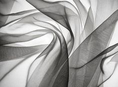 Stock Photo : smoky gauze fabric
