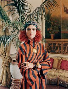 Malgosia Bela by Venetia Scott for W August 2014. #fashion #photography #femalephotographers