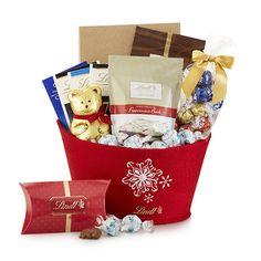 Seasonal Delights Holiday Gift Basket | Lindt Chocolate #GiveLindt #Contest
